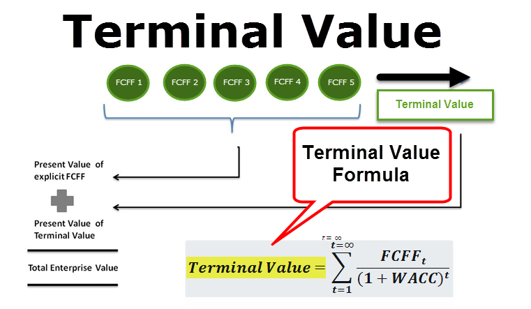 Terminal Value (Formula, Example) | Calculate Terminal Value