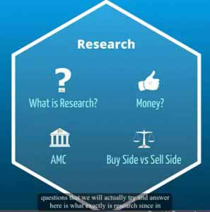 Equity Research in an Investment Bank