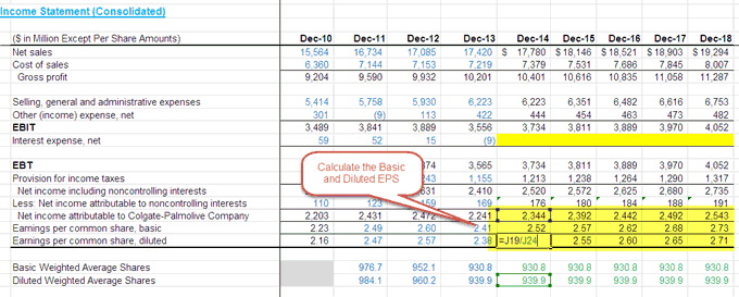 Completing the Income Statement - Part 3