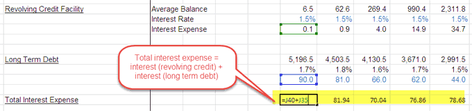 debt schedule - part 8