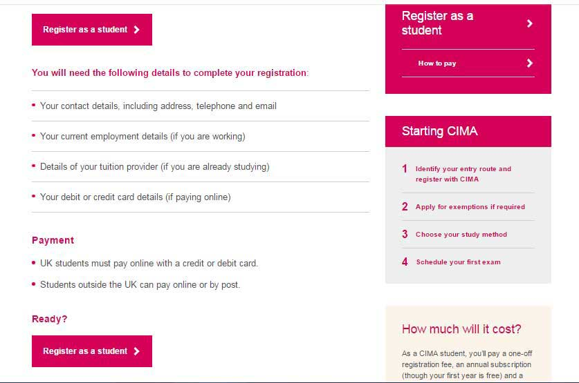 CIMA Exam Dates & Registration Process | WallstreetMojo