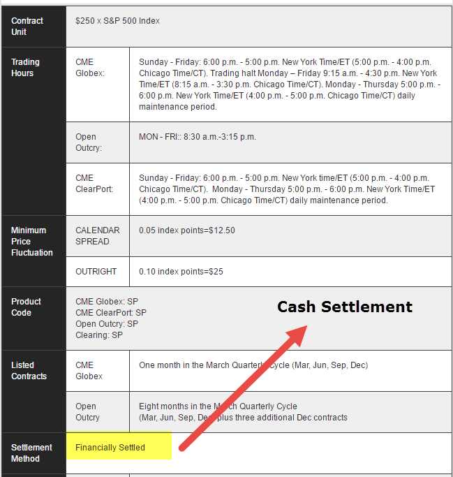 cash-settlement-example