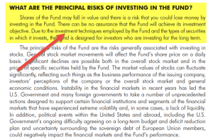 Hedge Fund Risks