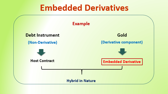 Embedded Derivatives