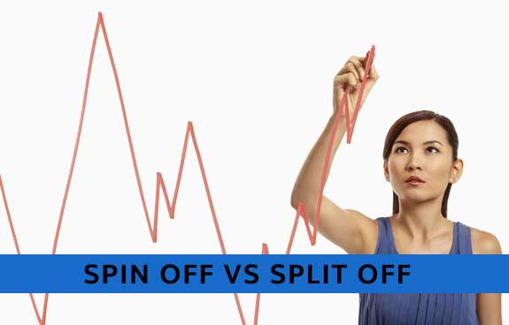 SPIN OFF VS SPLIT OFF