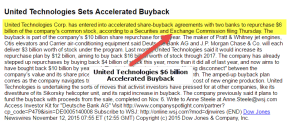 Accelerated Share Repurchase / Buybacks (Home Depot Case Study)