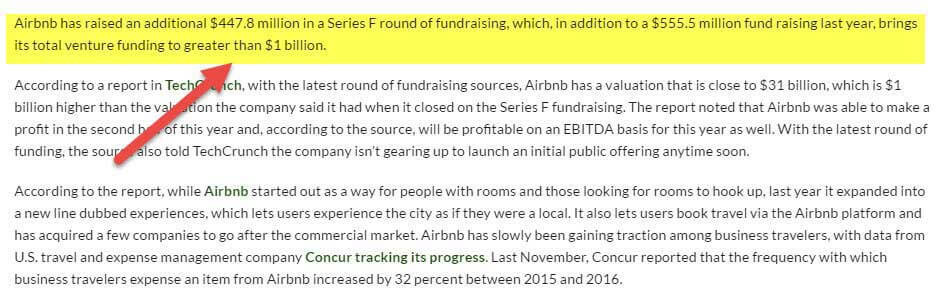 Airbnb Growth Capital