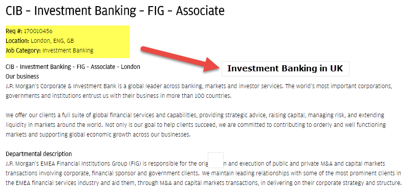 Investment Banking in London (UK) | Top Banks | Salary | Jobs