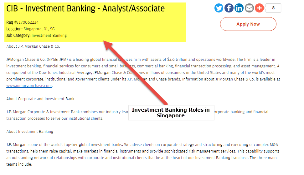 Investment Banking in Singapore | Top Banks List | Salary | Jobs
