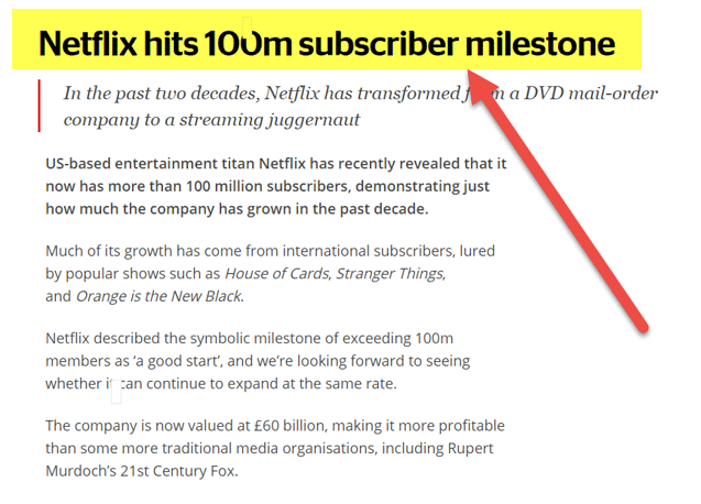break even point formula top example netflix break even