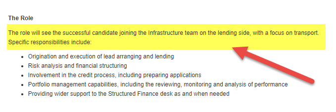 how to get into project finance - Lending