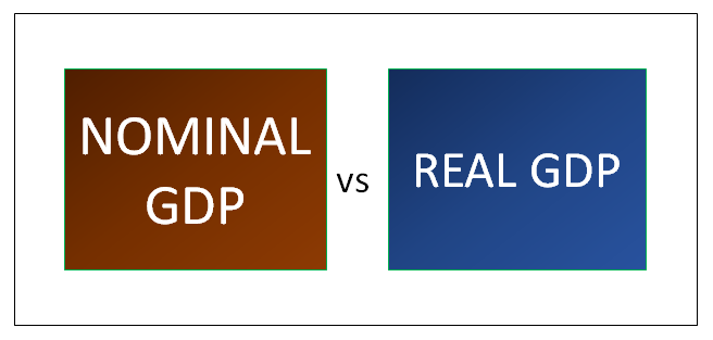 explain the difference between nominal gdp and real gdp