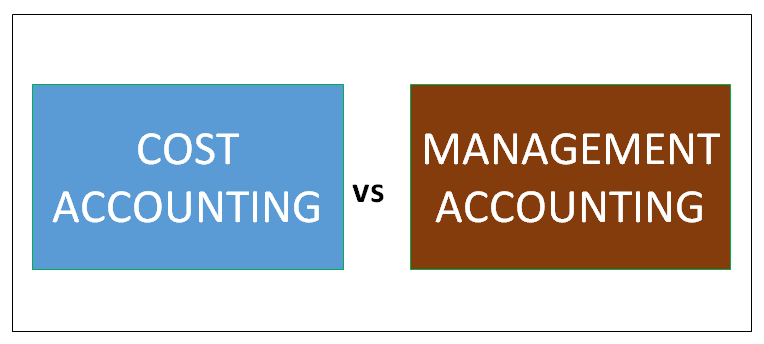cost accounting vs management accounting
