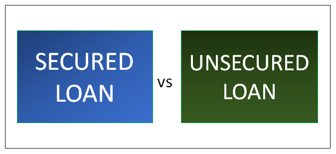 Image result for secured vs unsecured loans