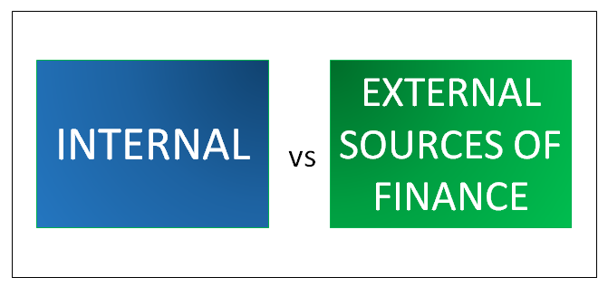 internal vs external sources of finance