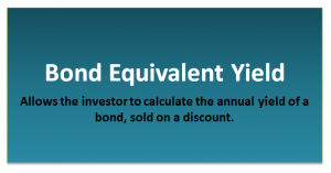 Bond Equivalent Yield Formula | BEY Calculator (with Excel Template)
