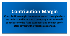 Contribution Margin Formula | Calculator (With Excel Template)