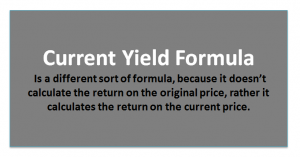 Current Yield of a Bond | Formula | Calculator (with Excel Template)