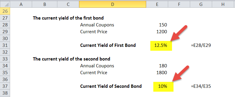 first and second bond