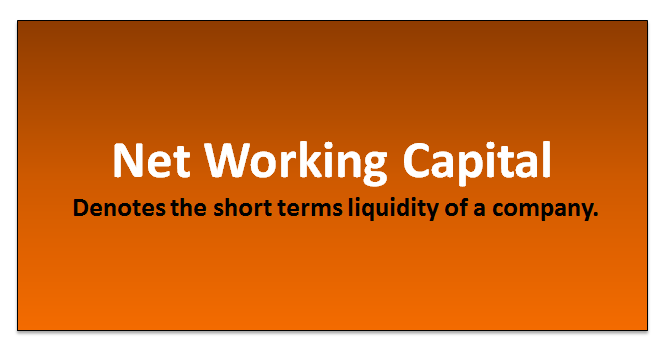 working capital excel template
