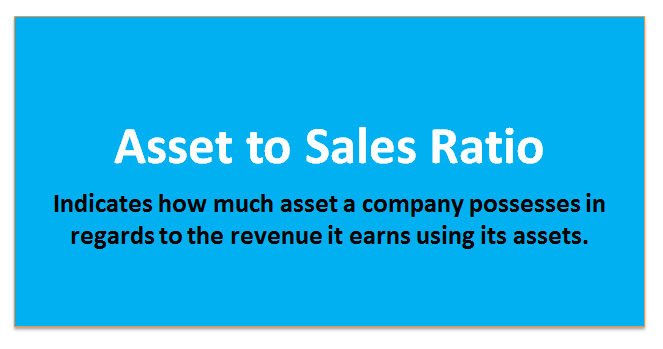 assets to sales ratio 1