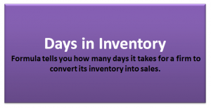 Days in Inventory Formula | Calculator (With Excel Template)
