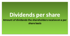Dividends per Share Formula | Calculator (with Excel Template)