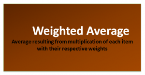 Weighted Average Formula | Calculator (with Excel Template)