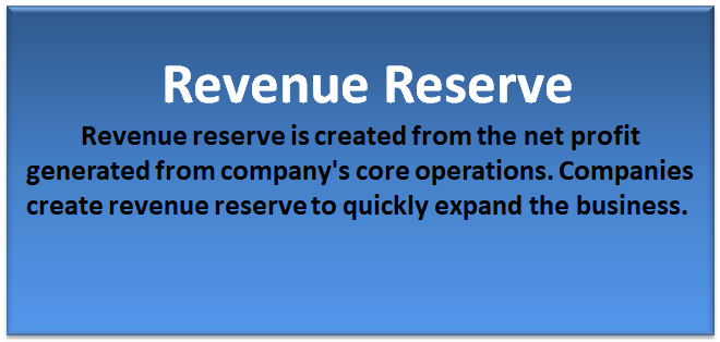 Revenue Reserve