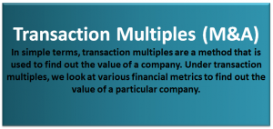 Transaction Multiples Valuation