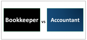 Bookkeeper vs Accountant