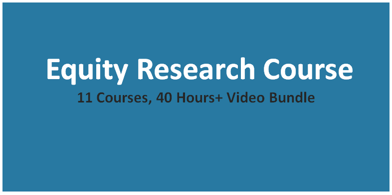 Equity Research Course