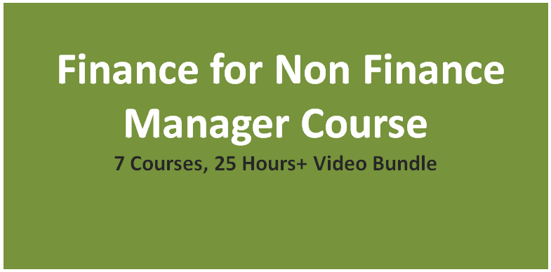 Finance for Non Finance Manager Course