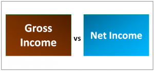 Gross Income vs Net Income