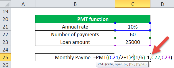PMT Function (Example-2)
