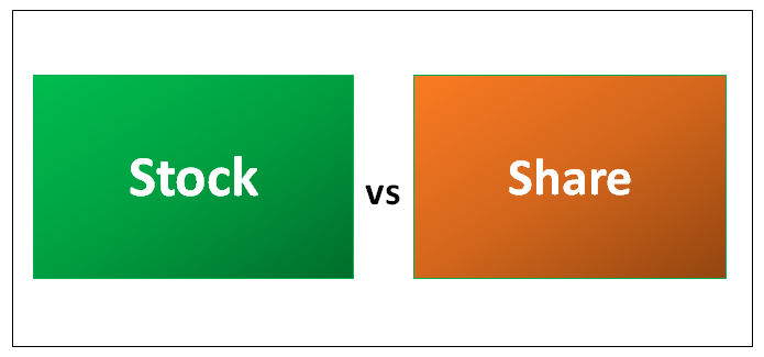 Stock vs Share