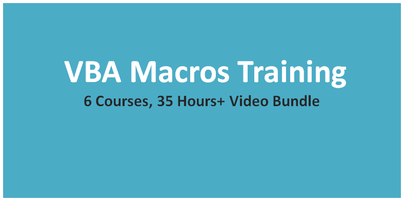 VBA Macros Training