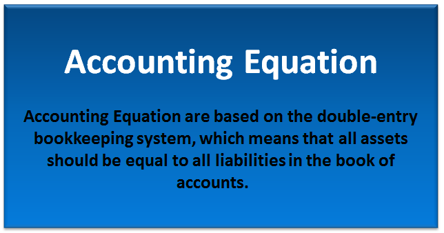 accounting equation concept