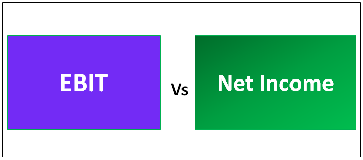 EBIT vs Net Income