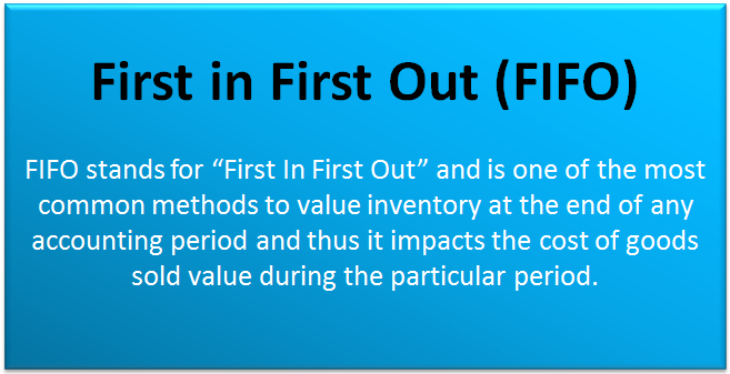 First in First Out Accounting | FIFO Inventory Method (Examples)