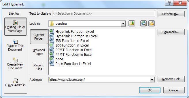 HYPERLINK Function in Excel (Formula) | How to Insert HYPERLINK?