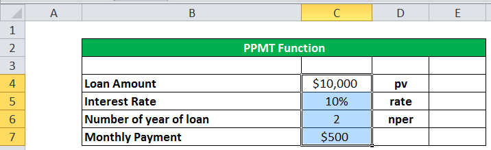 PPMT Example 2