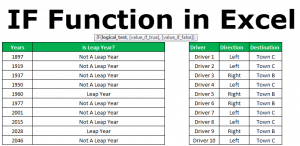 IF Excel Function