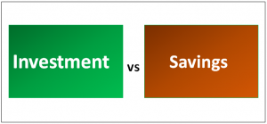 Investment vs Savings