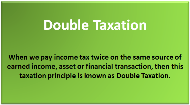 Double Taxation 1