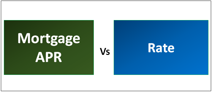 Mortgage APR vs Rate
