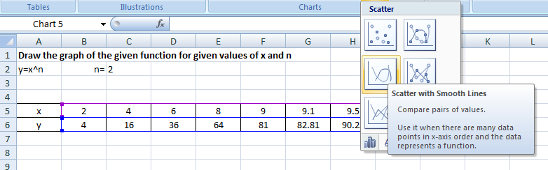 POWER Excel Function1