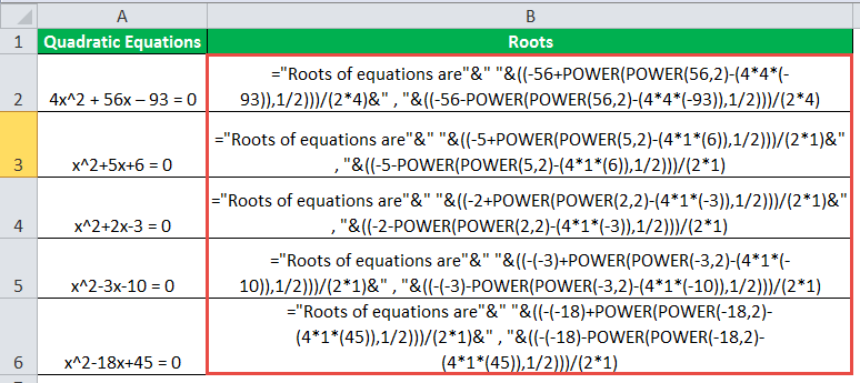 POWER Function in Excel (Formula, Examples) | How to Use