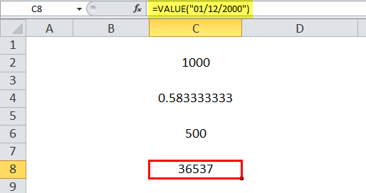 VALUE Example 4