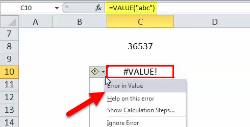 VALUE Example 5